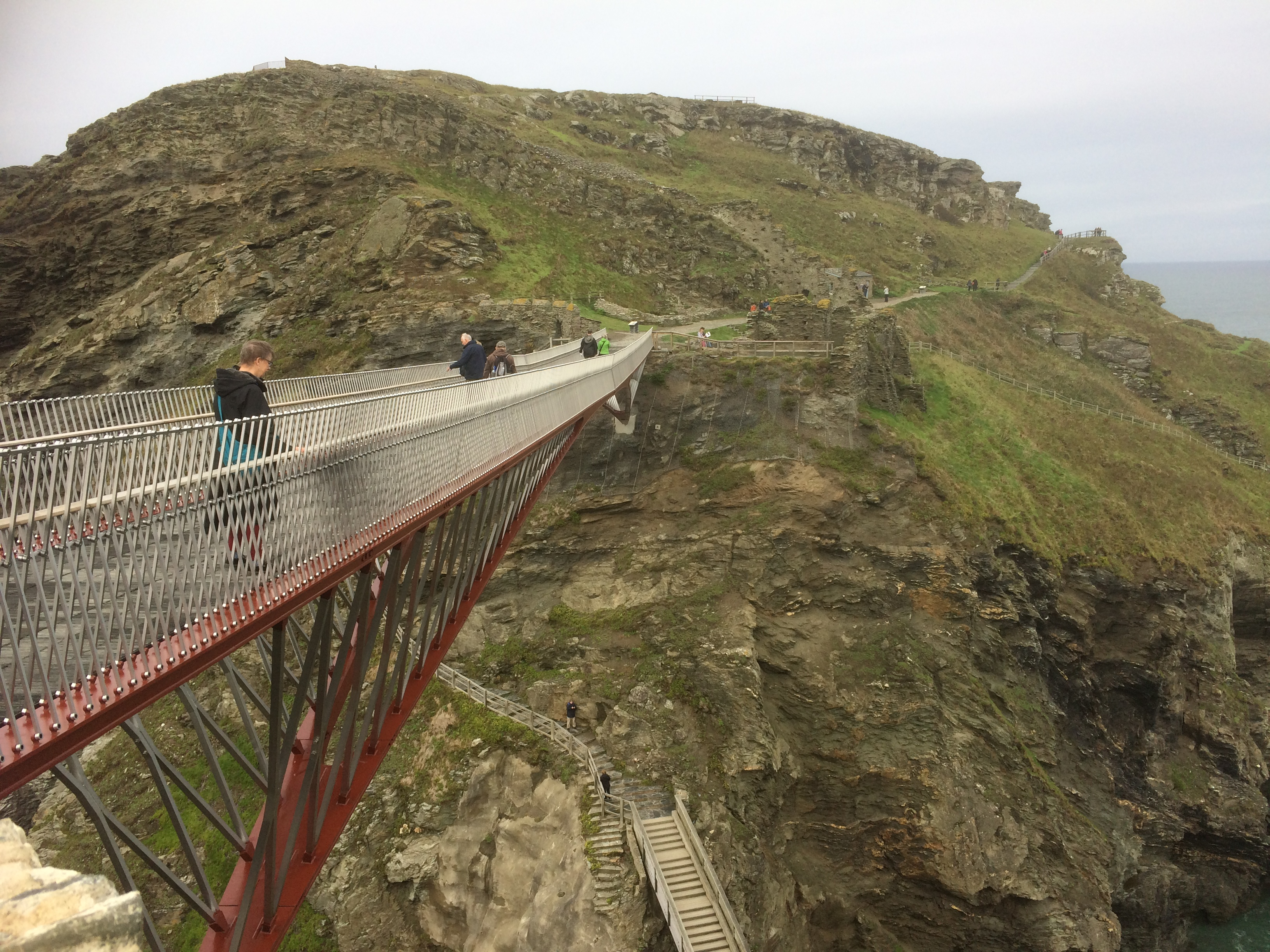 Tintagel footbridge