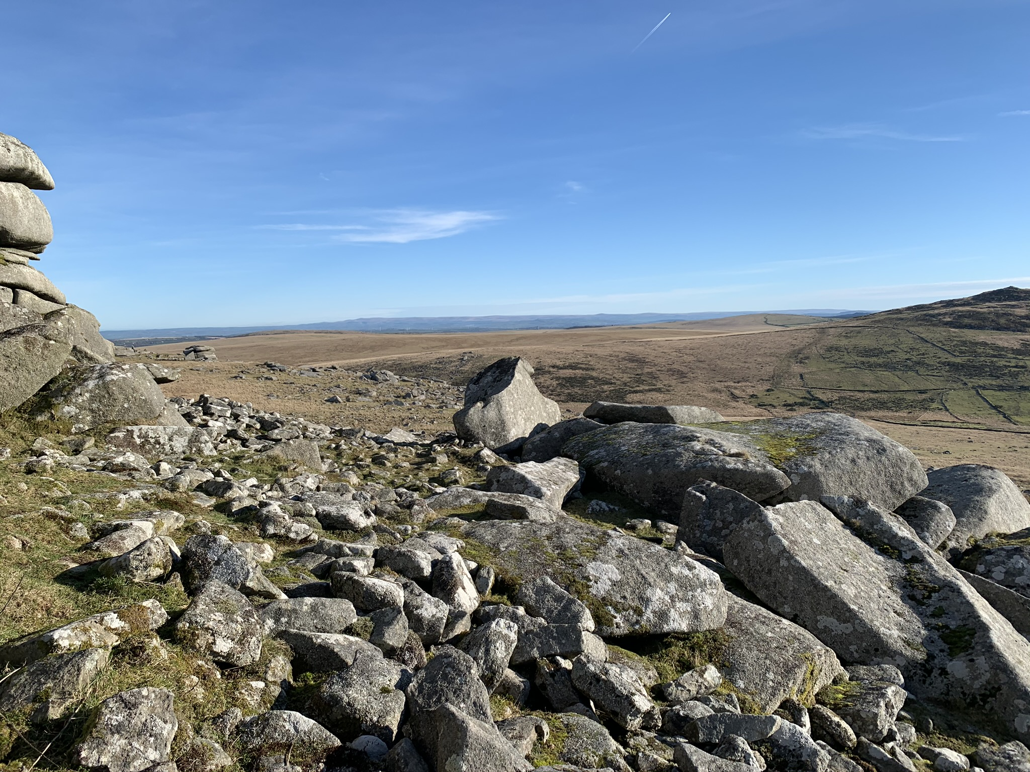 Rough Tor view