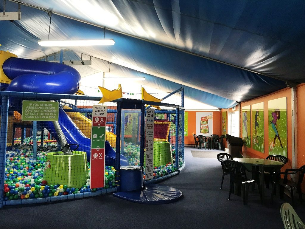 Indoor play area at Flambards, West Cornwall