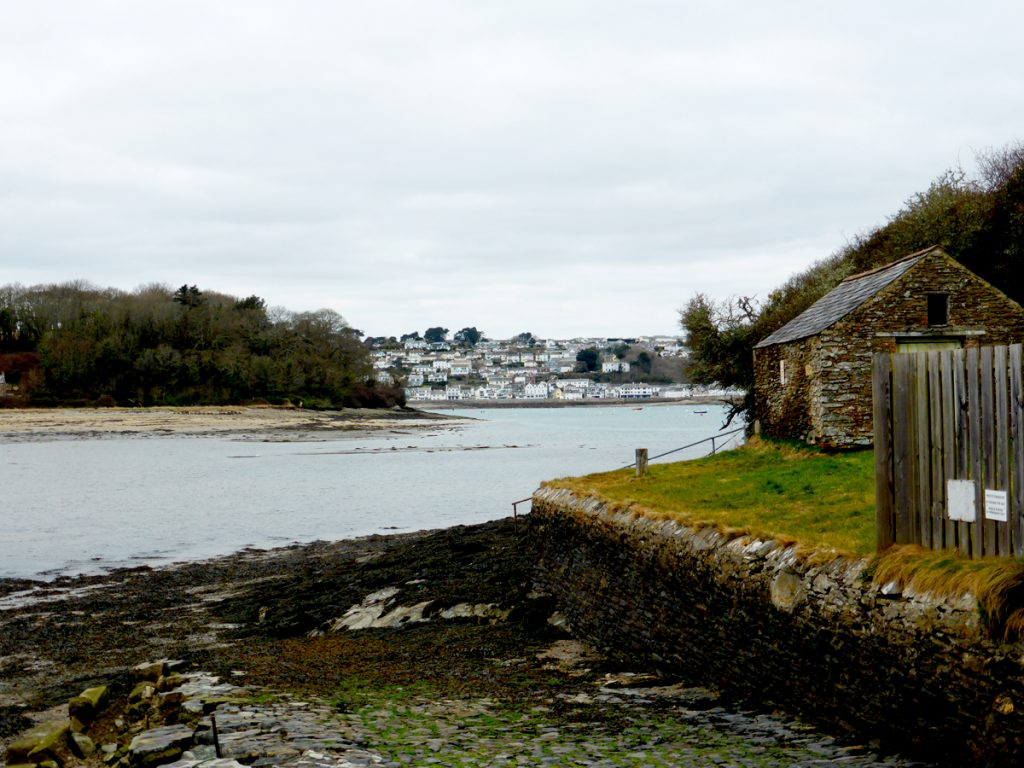 The slipway by Place House is the high tide landing point for the Place Ferry