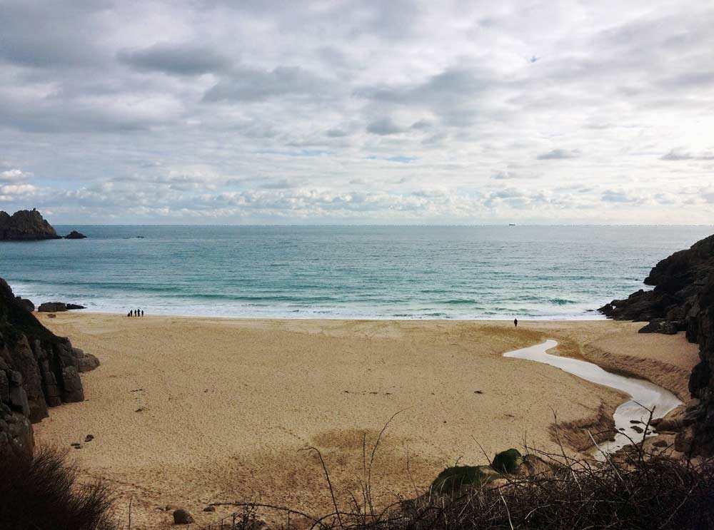 Porthcurno Beach, West Cornwall