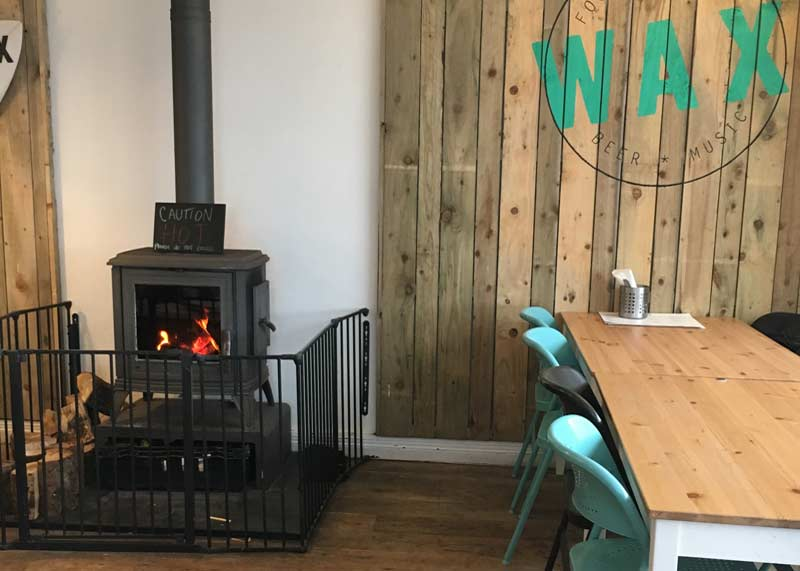Wax: Dog friendly bar and kitchen at Watergate Bay, North Cornwall