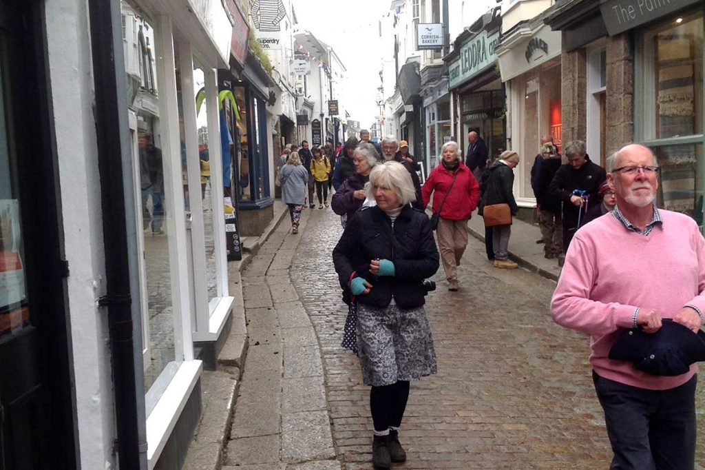 Streets of St Ives