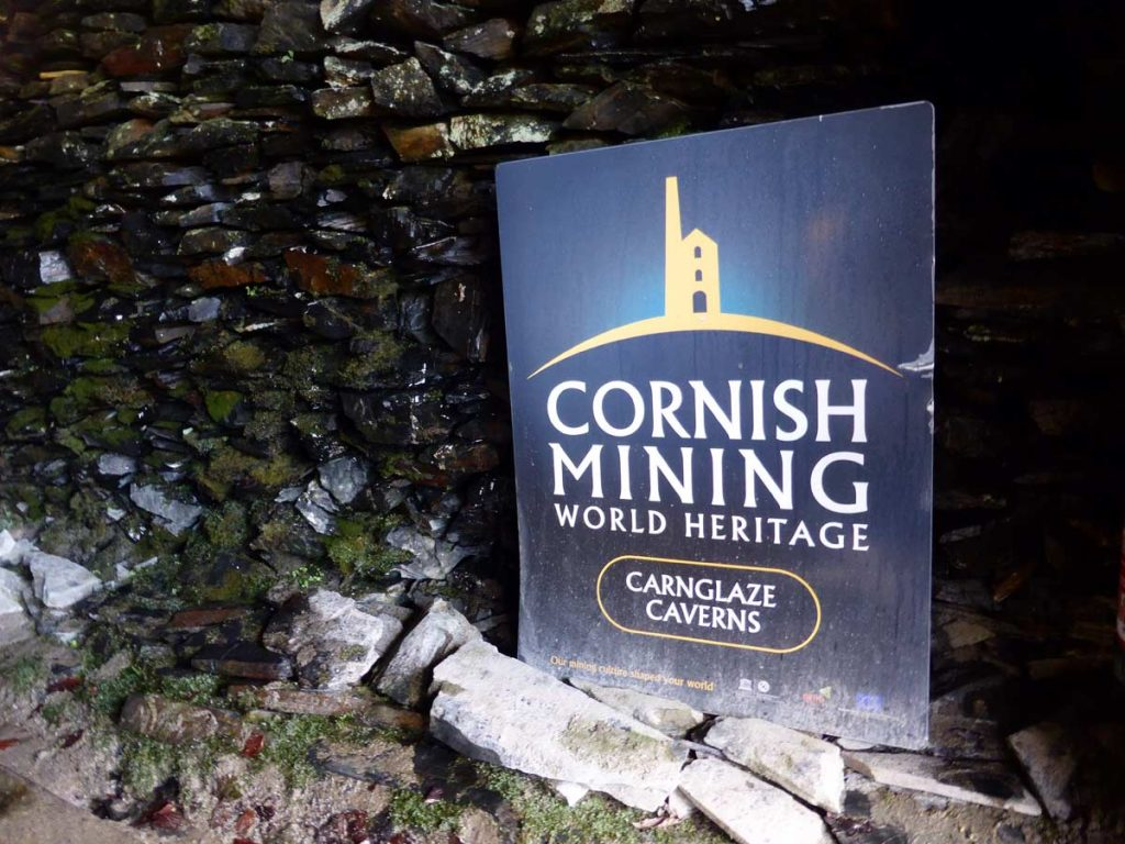 Cornish Mining World Heritage, Carnglaze Caverns