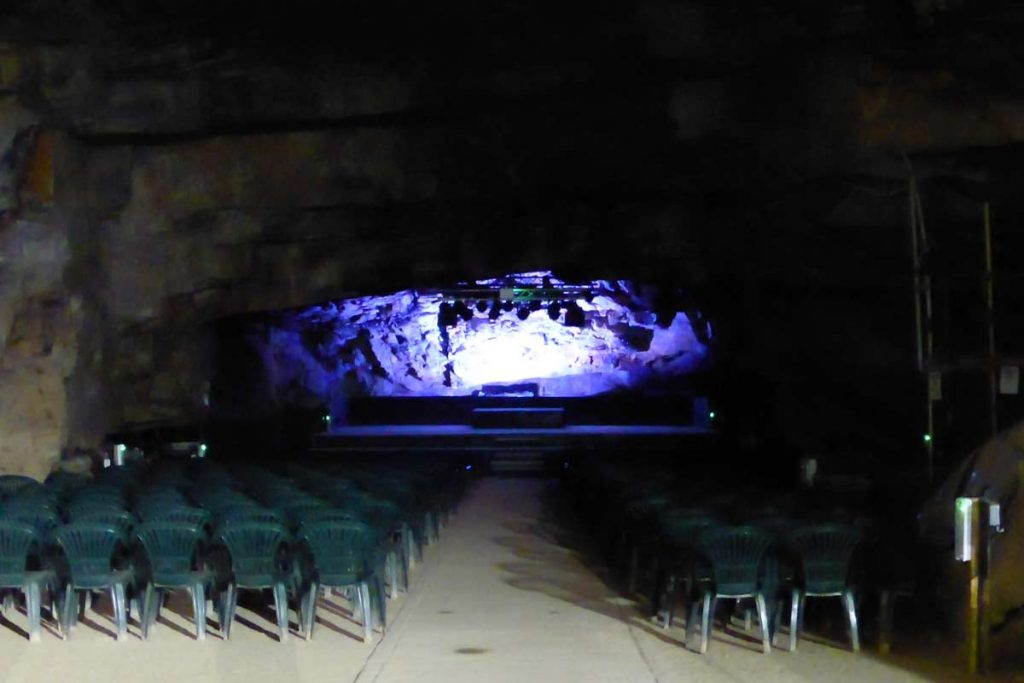 The Rum Store Auditorium, Carnglaze Caverns