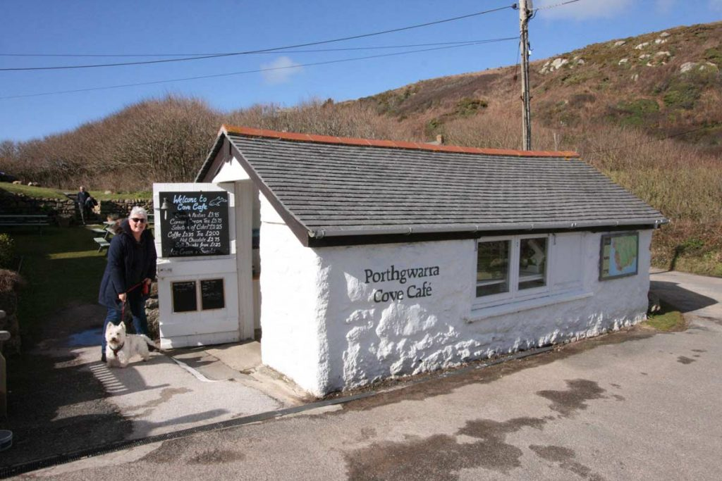 Porthgwarra Cove Cafe,