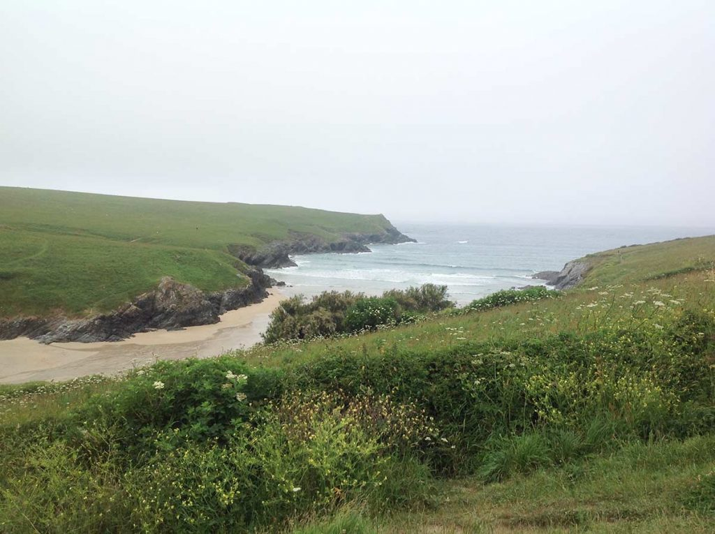 The stunning Porth Joke beach